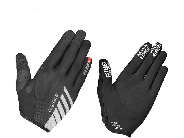GripGrab Racing Full Finger Gloves black